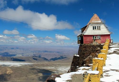 Chacaltaya: el centro de esquí boliviano abandonado
