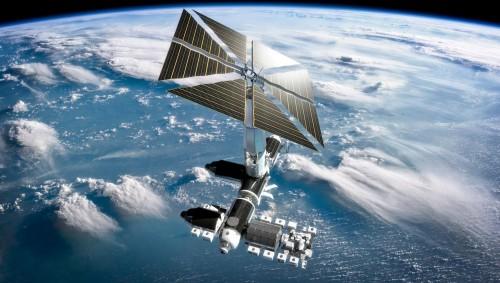 Un hotel en el espacio en 2024