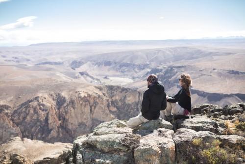 Cómo se trabaja para hacer senderos en Parque Patagonia