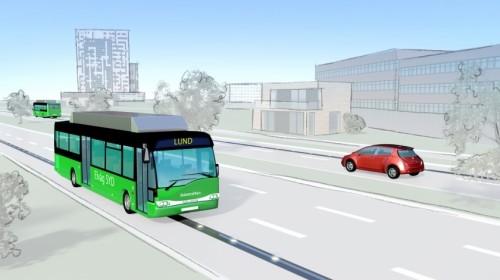 Electrifican varias carreteras en Suecia para suprimir motores con nafta