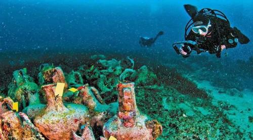 Abrieron un museo submarino en Grecia