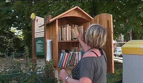 En París: sumarán un centenar de Cajas de Lectura