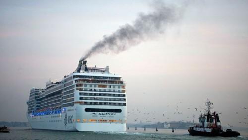 Agua de mar como combustible para los cruceros
