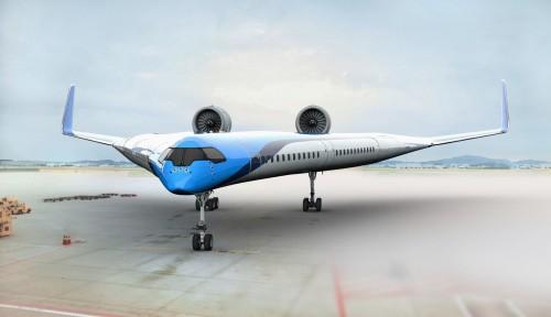 Así será el avión del futuro según KLM