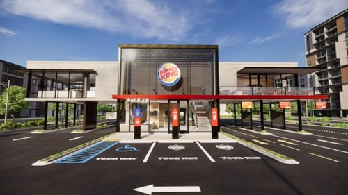 Burger King presenta el fast food post-pandemia
