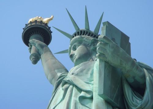 El mirador prohibido de la Estatua de la Libertad