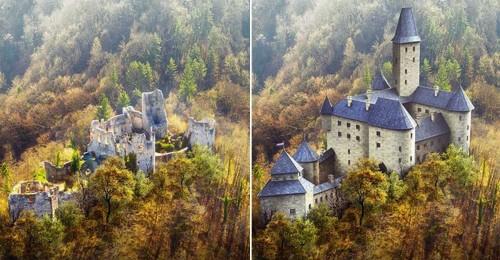 Castillos medievales que renacen de sus ruinas gracias al 3D