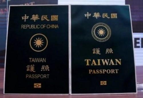 Taiwan presenta un nuevo pasaporte que reivindica su independencia