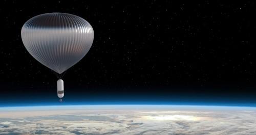 Se harán viajes al espacio con globos estratosféricos