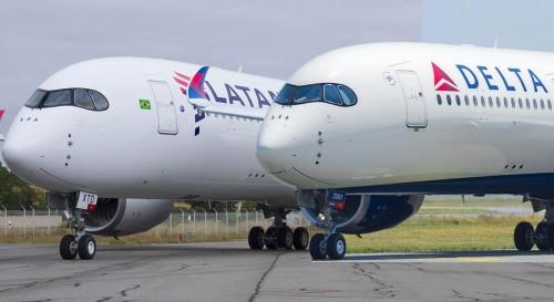Se formaliza el acuerdo Delta - Latam en Brasil