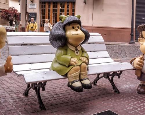 Citas con Mafalda en la Argentina y España