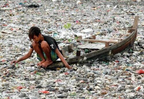 Así es el río más contaminado del mundo