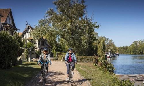 El valle del Sena en bici: de París hasta la Mancha