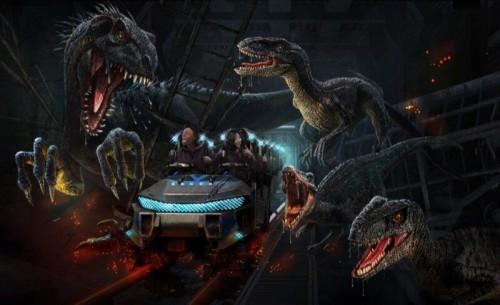 La nueva atracción Jurásica de Universal Studios