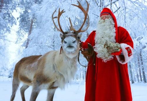 El pueblo de Papa Noel se prepara para la Navidad 2020