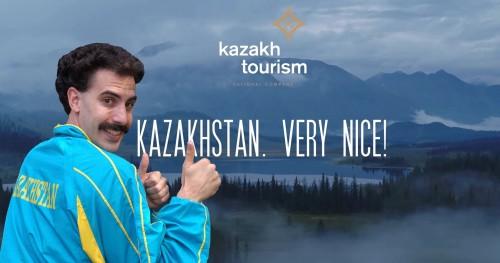 Kazajistán: un destino Very Nice, gracias A Borat