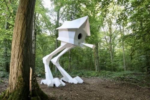 El Bosque Monumental combina naturaleza y arte
