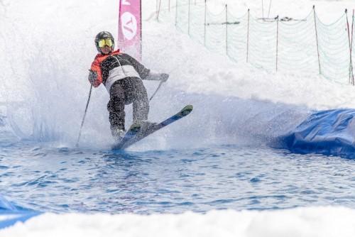 Waterslide Ski: el nuevo furor del invierno europeo