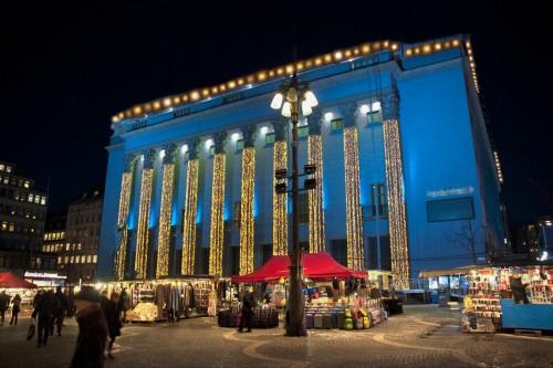 Estocolmo se ilumina para la Semana de los Nobel