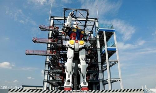 Gundam, el robot más grande el mundo, en Yokohama