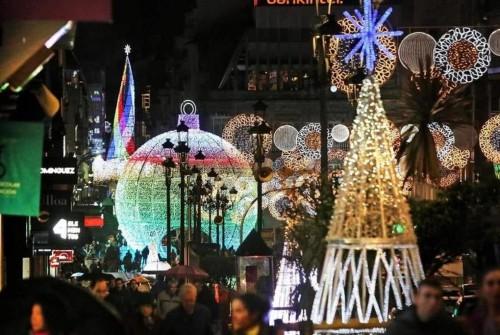 En Vigo: la Navidad más brillante de Europa