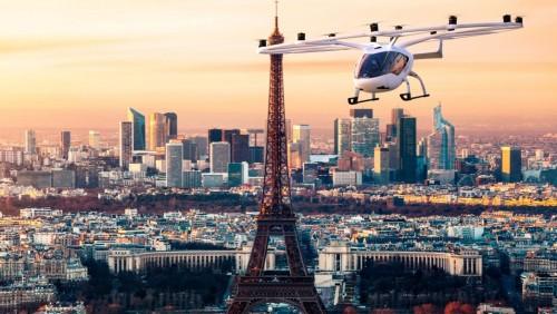 París tendrá taxis aéreos a partir de 2030