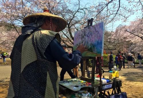 El hanami ya empezó en Japón