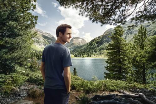Roger Federer promueve el turismo en Suiza