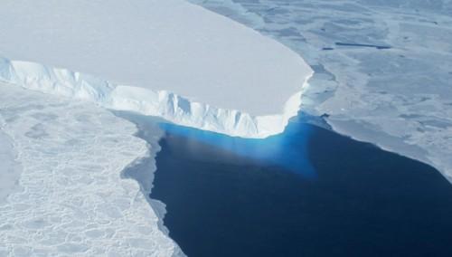 El glaciar del apocalipsis se derrite