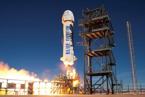 Blue Origin está a punto de lanzar el turismo espacial