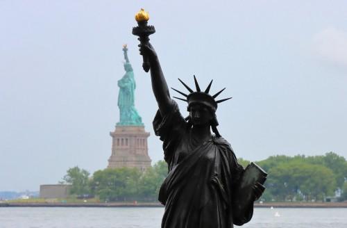 Una segunda Estatua de la Libertad en Nueva York