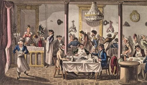¿A qué se parecían los primeros restaurantes?