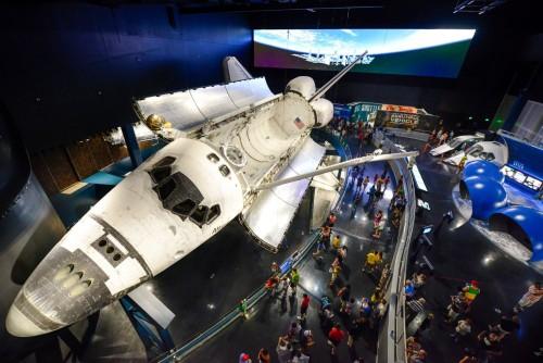10 años del transbordador Atlantis en el Kennedy Space Center