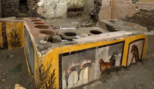En Pompeya: ahora se visita el fast-food de los romanos