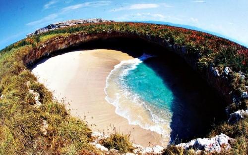 La playa más secreta de México, en las Islas Marietas