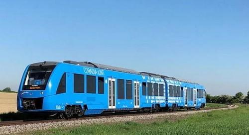 Pusieron en servicio un tren de hidrógeno en Francia