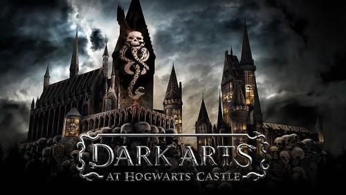 Los mortífagos regresan al castillo de Hogwarts en Orlando