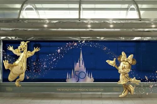 El aeropuerto de Orlando celebra los 50 años del Walt Disney World Resort