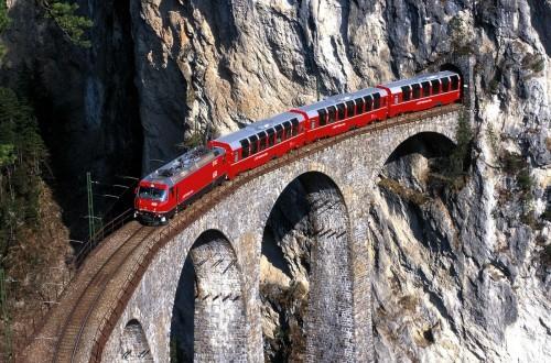 Alpine cruise: un viaje inolvidable a bordo de los trenes suizos