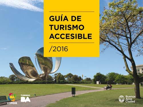 Editaron una guía de lugares accesibles para personas con discapacidad