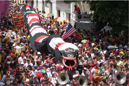 El gran negocio turísticode febrero en Brasil