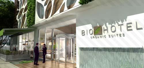Abrió el primer hotel ecológico de América Latina