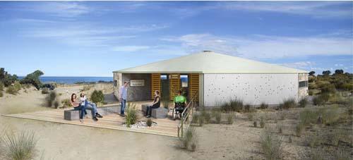 Un nuevo centro de interpretación dedicado a las orcas en Punta Norte