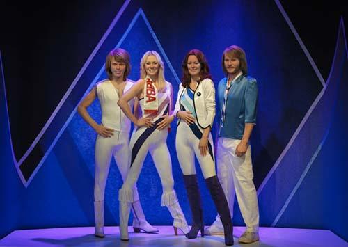 Las réplicas de los músicos de ABBA ya están en el museo de la banda