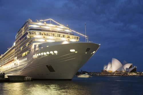 El crucero MSC Orchestra es el primer buque de la compañìa en llegar a Sydney