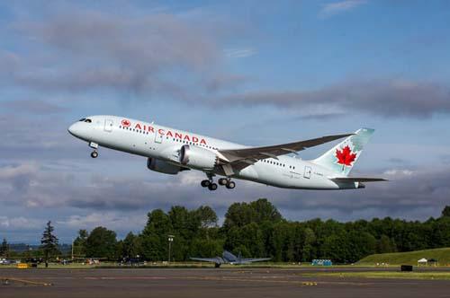 Buenos resultados para la aerolínea canadiense