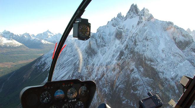 Sobrevuelo en helicóptero