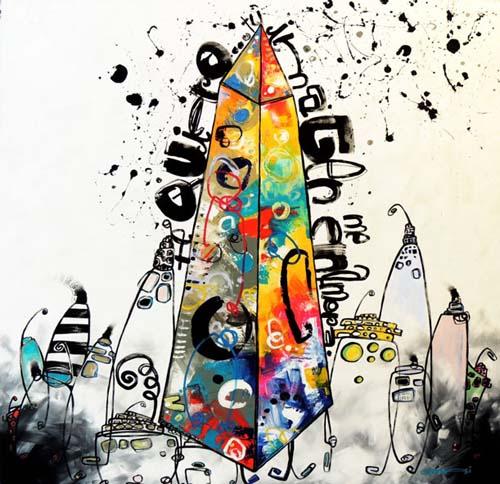 """El hotel recibe la muestra """"Serie Obeliscos"""" de Daniel Genovesi"""