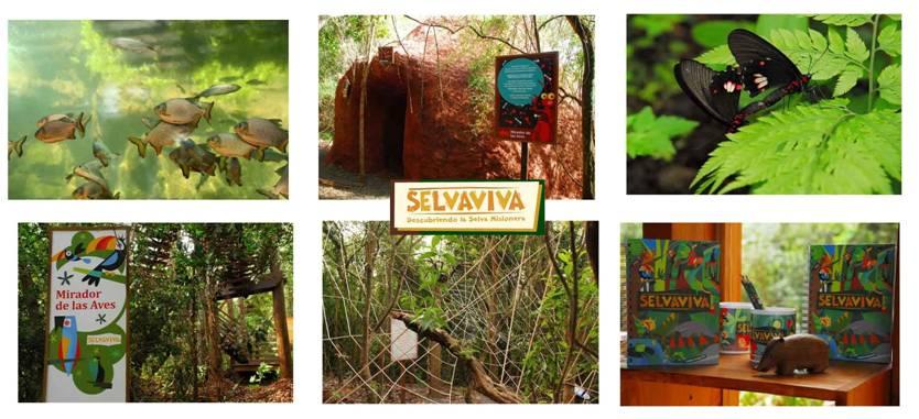 Amerian Portal del Iguazú da ingreso a Selva Viva