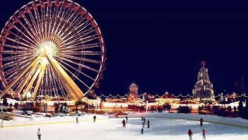 Winter Wonderland festeja la Navidad en Hyde Park